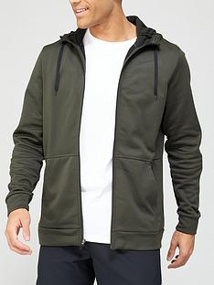 nike-training-therma-full-zip-hoodie-khaki