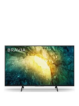 Sony Sony Bravia Kd43X70, 43 Inch, 4K Hdr Ultra Hd, Android Smart Tv With  ... Picture
