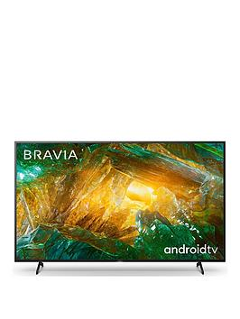 Sony Sony Bravia Kd75Xh80, 75 Inch, 4K Hdr Ultra Hd, Android Smart Tv With  ... Picture