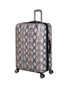 it-luggage-sheen-snake-print-large-case