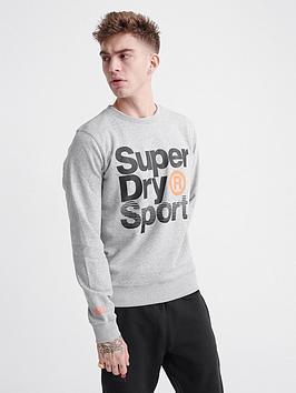 superdry-core-sport-crew-neck-sweat-top-grey