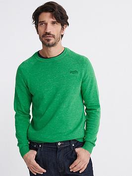 Superdry Superdry Orange Label Cotton Sweat - Green Picture