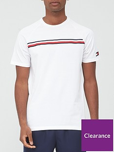 tommy-sport-stripe-t-shirt-white