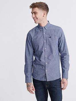 superdry-classic-university-long-sleeved-oxford-shirt-blue