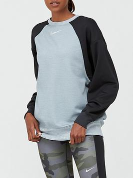 nike-training-thermal-colourblock-sweatshirt-light-grey-heathernbsp