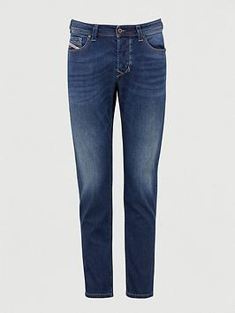 Diesel Diesel Larkee Beex Regular Tapered Fit Washed Jeans - Blue Picture