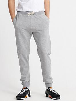 Superdry Superdry The Standard Label Joggers - Grey Marl Picture