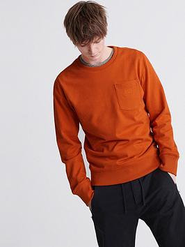 superdry-denim-goods-co-crew-neck-top-rust