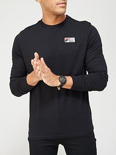 fila-vesuvius-long-sleeve-t-shirt-black