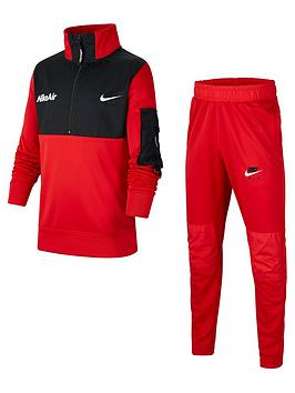 nike-older-air-tracksuit-redblack