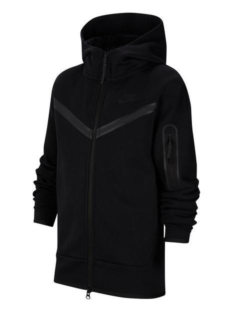 nike-older-boys-tech-fleece-full-zip-hoodie-black
