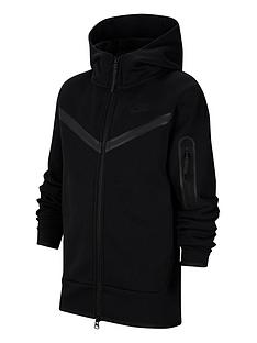 nike-older-boys-tech-fleece-full-zip-hoodie-black