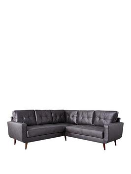 Very Skandi Faux Leather Corner Group Picture