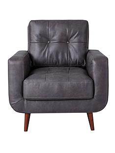 skandi-faux-leather-chair