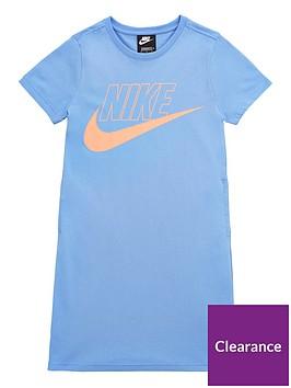 nike-older-girls-futura-t-shirt-dress-bluepink