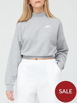 nike-nsw-essential-collar-sweatshirt-dark-grey-heathernbsp
