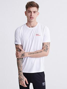Superdry Superdry Training T-Shirt - White Picture