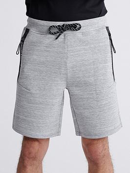 Superdry Superdry Gymtech Shorts - Light Grey Marl Picture