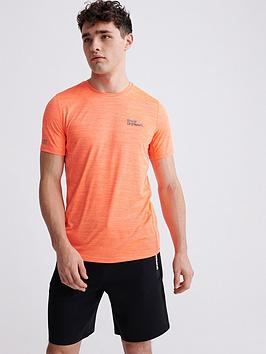 Superdry Superdry Training T-Shirt - Orange Picture