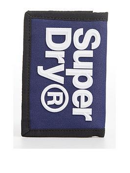 Superdry Superdry Velcro Logo Wallet - Blue Picture