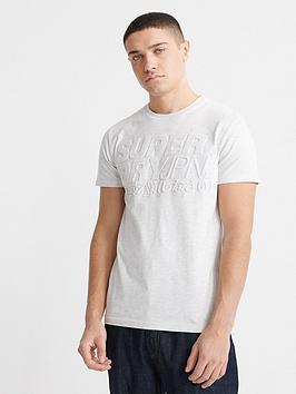 superdry-emboss-pastel-line-t-shirt-white