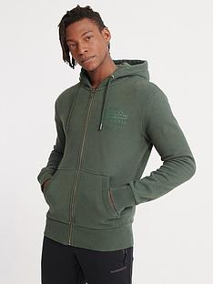 superdry-vintage-label-tonal-injection-zip-hoodie-pine