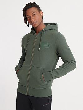 superdry-vintage-label-tonal-injection-zip-hoodie-pine