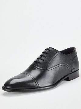Ted Baker Ted Baker Circass Leather Oxford Toecap Shoes - Black Picture