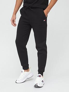 tommy-sport-cuffed-regular-fleece-pants-black