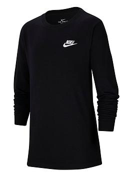 nike-older-boys-futura-t-shirt-black-white