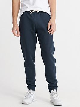 Superdry Superdry The Standard Label Joggers - Navy Picture