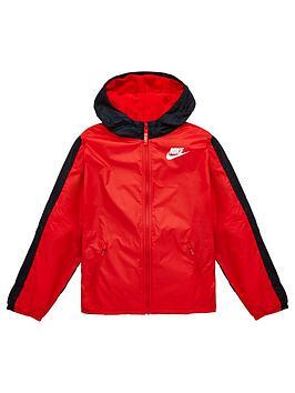 nike-oldernbspfleece-lined-jacketnbsp--redblack