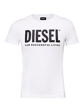 Diesel   T-Diego Large Logo T-Shirt - White
