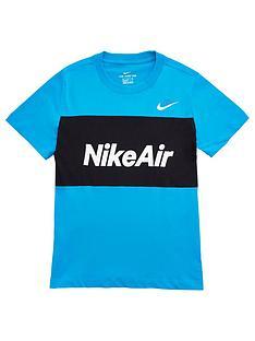 nike-older-boys-air-t-shirt-blueblack