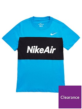 nike-older-boys-air-t-shirt-blueblack