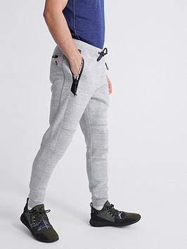 Superdry Superdry Gymtech Joggers - Light Grey Marl Picture