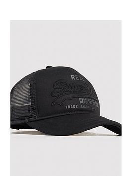 Superdry Superdry Vintage Logo Trucker Cap - Black Picture