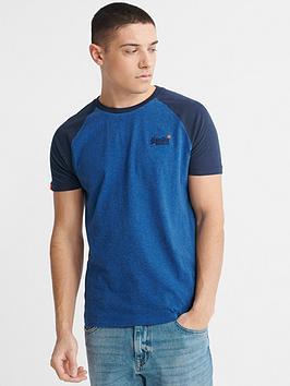 Superdry Superdry Orange Label Short Sleeved Baseball T-Shirt Picture