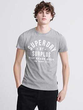 Superdry Superdry Surplus Goods Classic T-Shirt - Grey Marl Picture