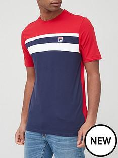 fila-dover-t-shirt-navyredwhite