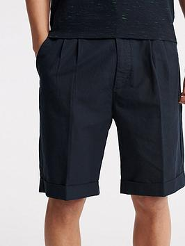 Superdry Superdry Edit Pleat Chino Shorts - Navy Picture