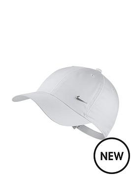 nike-older-childrens-heritage86-cap-with-metal-swoosh-white