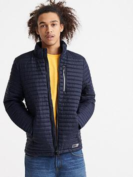 Superdry Superdry Micro Quilt Packaway Fuji Jacket - Navy Picture