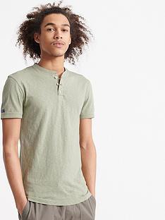 superdry-heritage-short-sleeve-grandad-top-green