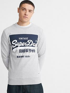 superdry-vintage-label-urban-crew-neck-top-grey