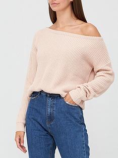 missguided-missguided-ophelita-off-shoulder-jumper-rose
