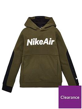 nike-air-older-boys-hoodie-khaki