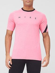 nike-academy-footballnbspshort-sleeved-tee-pinkblack