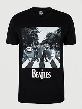 Beatles Beatles Abbey Road Short Sleeves T-Shirt - Black Picture