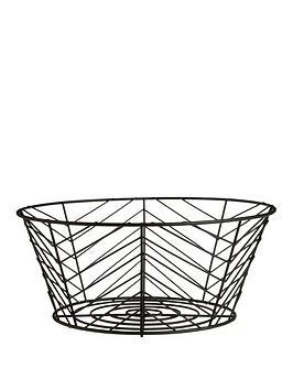 Premier Housewares Premier Housewares Iron Vertex Fruit Basket Picture